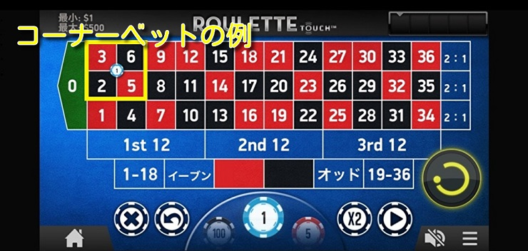 corner bet1