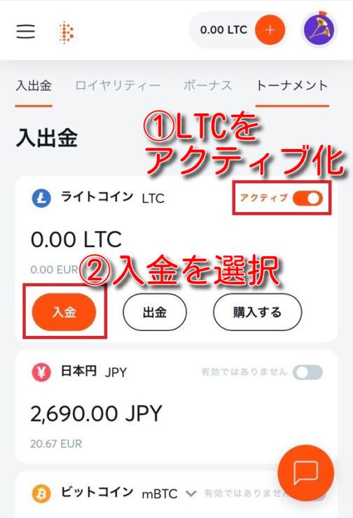 bitcasino-litecoin-deposit2
